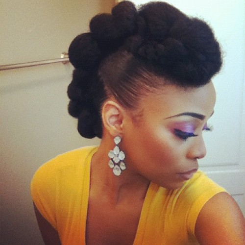 ... : NATURAL HAIR STYLES : MASTERING THE NATURAL HAIR UPDO